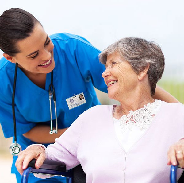 Nursing services for the elderly at home
